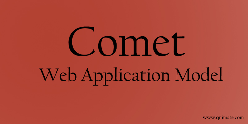 comet application model