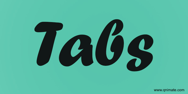 Tabs Using HTML And CSS Only