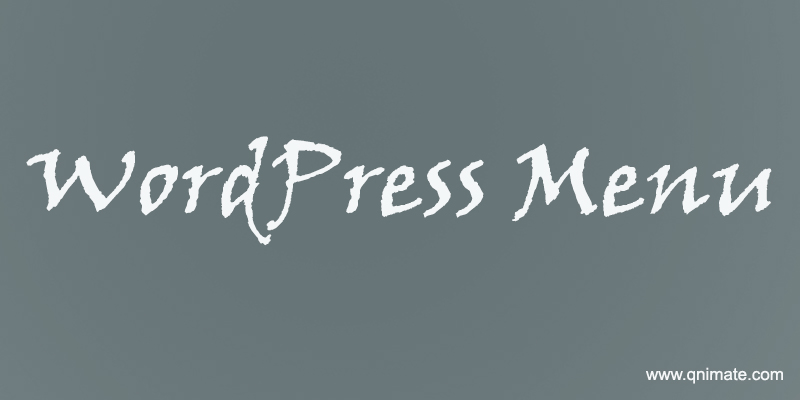 wordpress-menu